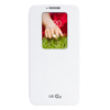 Housse quick windows LG G2 blanc